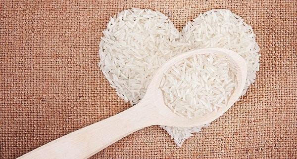 Rice diet.
