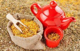 Organic herbal tea.