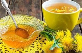 Oil from dandelions.