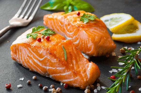 Fish mono diet.