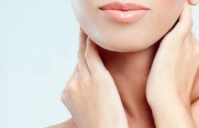 Beautiful neck skin.